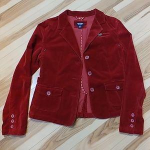 American Eagle Velour Soft Jacket Retro